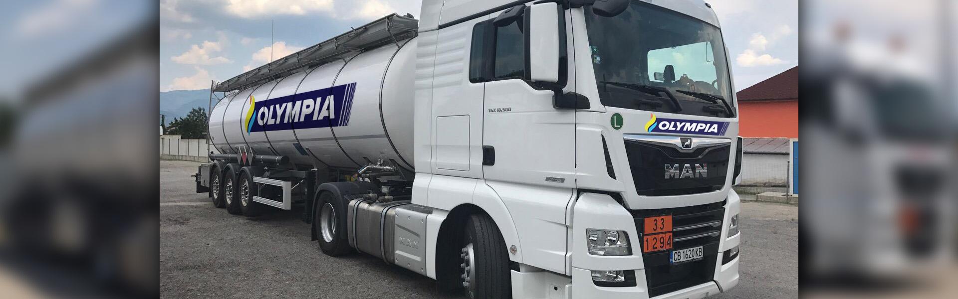 превоз на неопасни течни товари